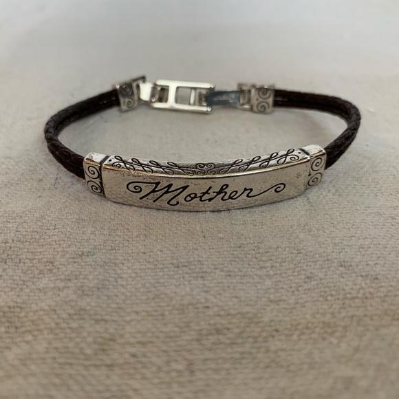 Brighton Jewelry - Brighton Leather 'Mother' Bracelet